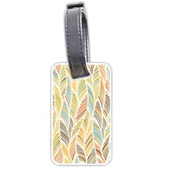 Decorative  Seamless Pattern Luggage Tags (one Side)  by TastefulDesigns
