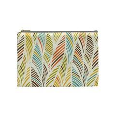 Decorative  Seamless Pattern Cosmetic Bag (medium)  by TastefulDesigns