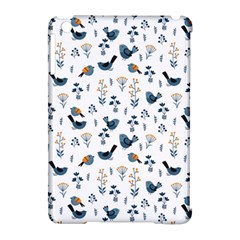 Spring Flowers And Birds Pattern Apple Ipad Mini Hardshell Case (compatible With Smart Cover)