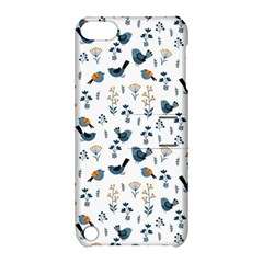 Spring Flowers And Birds Pattern Apple Ipod Touch 5 Hardshell Case With Stand by TastefulDesigns