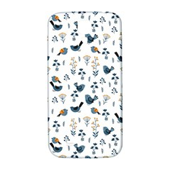Spring Flowers And Birds Pattern Samsung Galaxy S4 I9500/i9505  Hardshell Back Case
