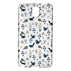 Spring Flowers And Birds Pattern Samsung Galaxy Note 3 N9005 Hardshell Case