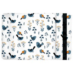 Spring Flowers And Birds Pattern Ipad Air 2 Flip