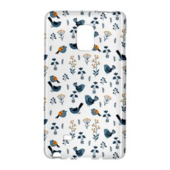 Spring Flowers And Birds Pattern Galaxy Note Edge by TastefulDesigns