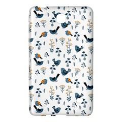 Spring Flowers And Birds Pattern Samsung Galaxy Tab 4 (7 ) Hardshell Case