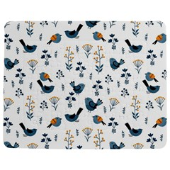 Spring Flowers And Birds Pattern Jigsaw Puzzle Photo Stand (rectangular)