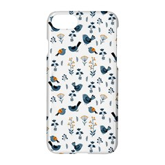 Spring Flowers And Birds Pattern Apple Iphone 8 Hardshell Case