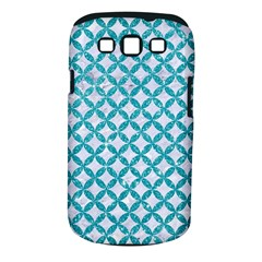 Circles3 White Marble & Turquoise Glitter (r) Samsung Galaxy S Iii Classic Hardshell Case (pc+silicone) by trendistuff