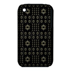 Dark Ethnic Stars Motif Pattern Iphone 3s/3gs by dflcprints