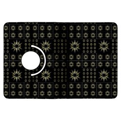 Dark Ethnic Stars Motif Pattern Kindle Fire Hdx Flip 360 Case by dflcprints