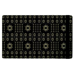 Dark Ethnic Stars Motif Pattern Apple Ipad Pro 9 7   Flip Case by dflcprints
