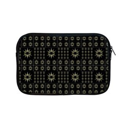Dark Ethnic Stars Motif Pattern Apple Macbook Pro 13  Zipper Case