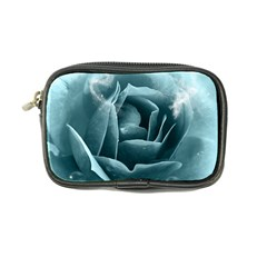 Beautiful Blue Roses With Water Drops Coin Purse by FantasyWorld7