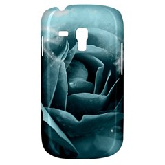 Beautiful Blue Roses With Water Drops Galaxy S3 Mini by FantasyWorld7