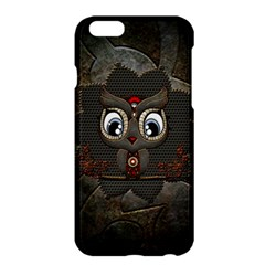 Wonderful Cute  Steampunk Owl Apple Iphone 6 Plus/6s Plus Hardshell Case by FantasyWorld7
