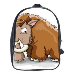 Mammoth Pre Historic Elephant  School Bag (xl) by ImagineWorld