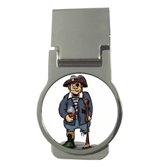Cute Pirate Money Clips (round)  by ImagineWorld