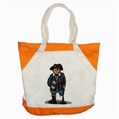 Cute Pirate Accent Tote Bag by ImagineWorld
