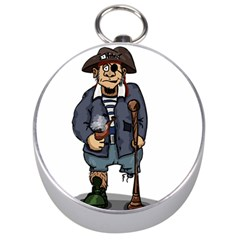 Cute Pirate Silver Compasses by ImagineWorld