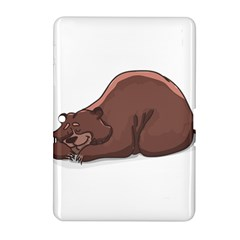 Cute Bear Sleeping Samsung Galaxy Tab 2 (10 1 ) P5100 Hardshell Case  by ImagineWorld