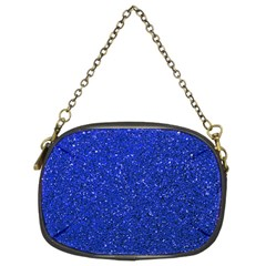 Blue Glitter Chain Purses (two Sides)  by snowwhitegirl