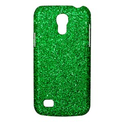 Green Glitter Galaxy S4 Mini by snowwhitegirl