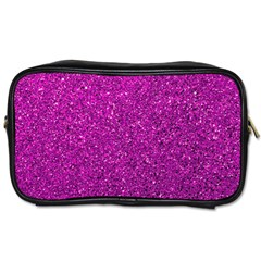 Pink  Glitter Toiletries Bags by snowwhitegirl