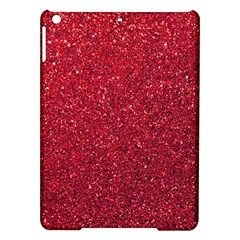 Red  Glitter Ipad Air Hardshell Cases by snowwhitegirl