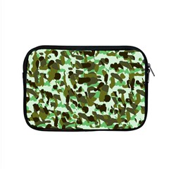 Brownish Green Camo Apple Macbook Pro 15  Zipper Case by snowwhitegirl