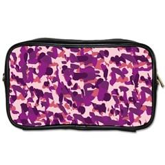 Pink Camo Toiletries Bags 2 Side by snowwhitegirl