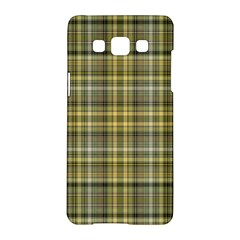 Yellow Plaid Samsung Galaxy A5 Hardshell Case  by snowwhitegirl