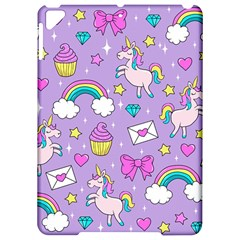 Cute Unicorn Pattern Apple Ipad Pro 9 7   Hardshell Case by Valentinaart