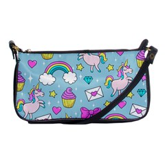 Cute Unicorn Pattern Shoulder Clutch Bags