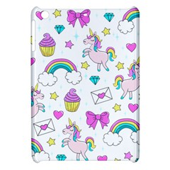 Cute Unicorn Pattern Apple Ipad Mini Hardshell Case by Valentinaart