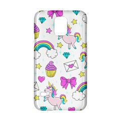 Cute Unicorn Pattern Samsung Galaxy S5 Hardshell Case  by Valentinaart