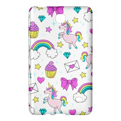 Cute Unicorn Pattern Samsung Galaxy Tab 4 (8 ) Hardshell Case  by Valentinaart
