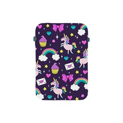 Cute Unicorn Pattern Apple Ipad Mini Protective Soft Cases by Valentinaart