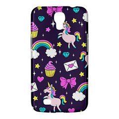 Cute Unicorn Pattern Samsung Galaxy Mega 6 3  I9200 Hardshell Case by Valentinaart