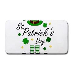 St Patricks Leprechaun Medium Bar Mats by Valentinaart