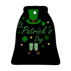 St Patricks Leprechaun Ornament (bell)