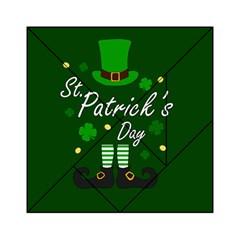 St Patricks Leprechaun Acrylic Tangram Puzzle (6  X 6 )
