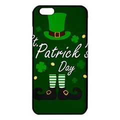 St Patricks Leprechaun Iphone 6 Plus/6s Plus Tpu Case by Valentinaart