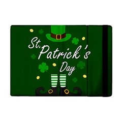 St Patricks Leprechaun Ipad Mini 2 Flip Cases by Valentinaart