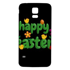 Happy Easter Samsung Galaxy S5 Back Case (white)