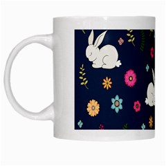 Easter Bunny  White Mugs by Valentinaart