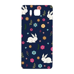 Easter Bunny  Samsung Galaxy Alpha Hardshell Back Case by Valentinaart