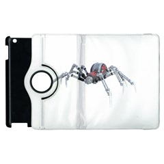 Bionic Spider Cartoon Apple Ipad 2 Flip 360 Case by ImagineWorld