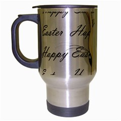 Easter Bunny  Travel Mug (silver Gray) by Valentinaart
