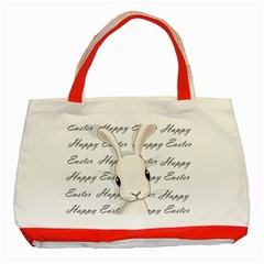 Easter Bunny  Classic Tote Bag (red)