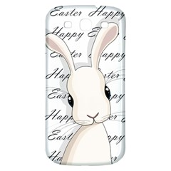 Easter Bunny  Samsung Galaxy S3 S Iii Classic Hardshell Back Case by Valentinaart